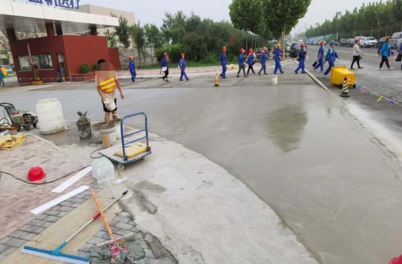 水泥路面修补